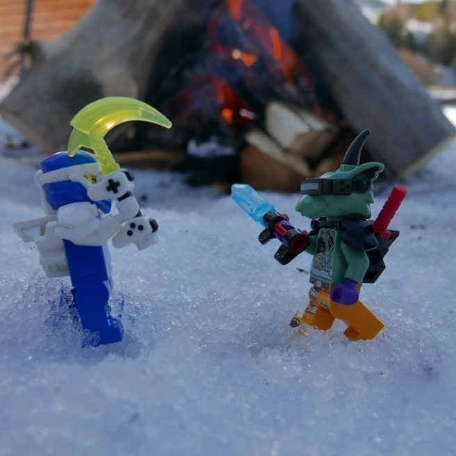 Śnieżna walka