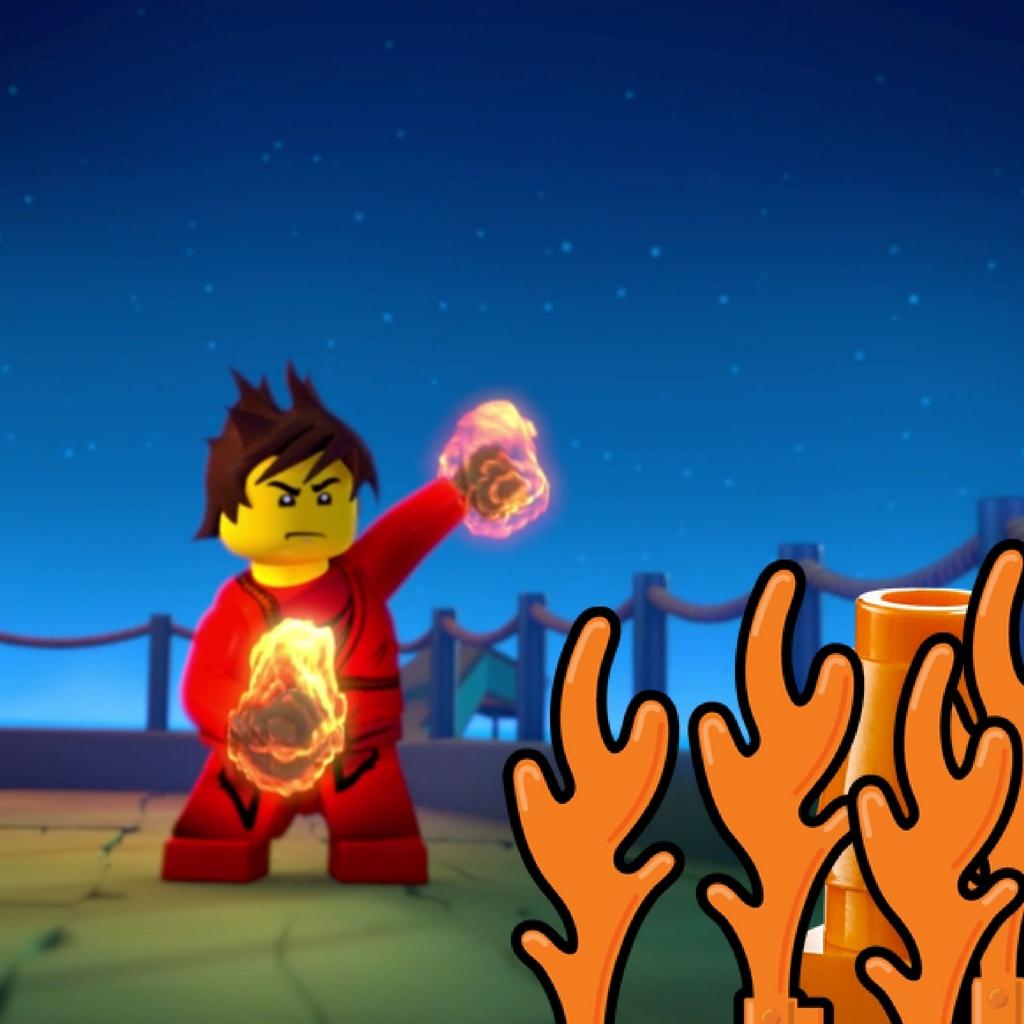 El es Kai tirando fuego