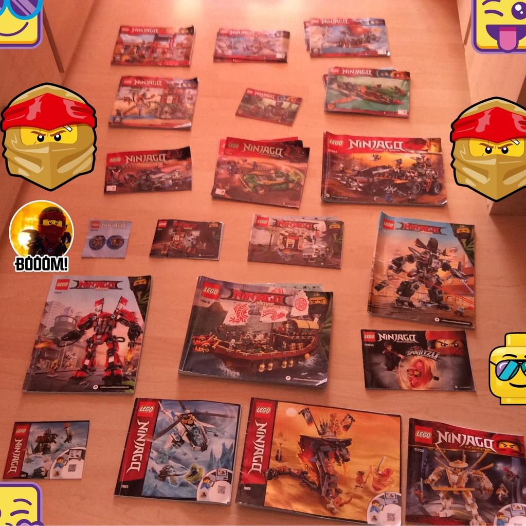 Todas mis instrucciones de Lego Ninjago