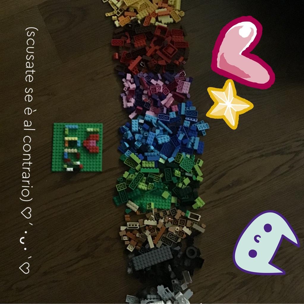 Arcobaleno LEGO!! ʕ•ᴥ•ʔ