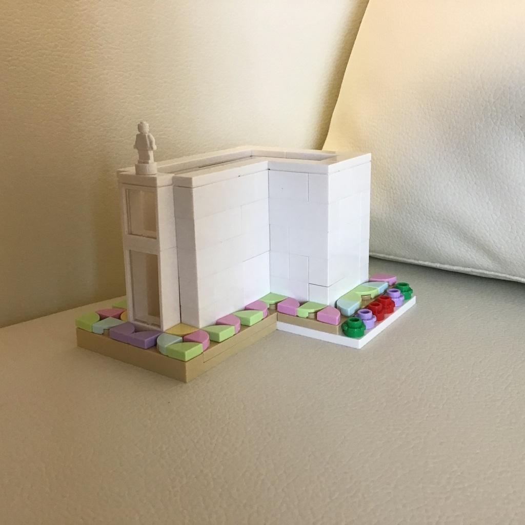 ケーキの建物?