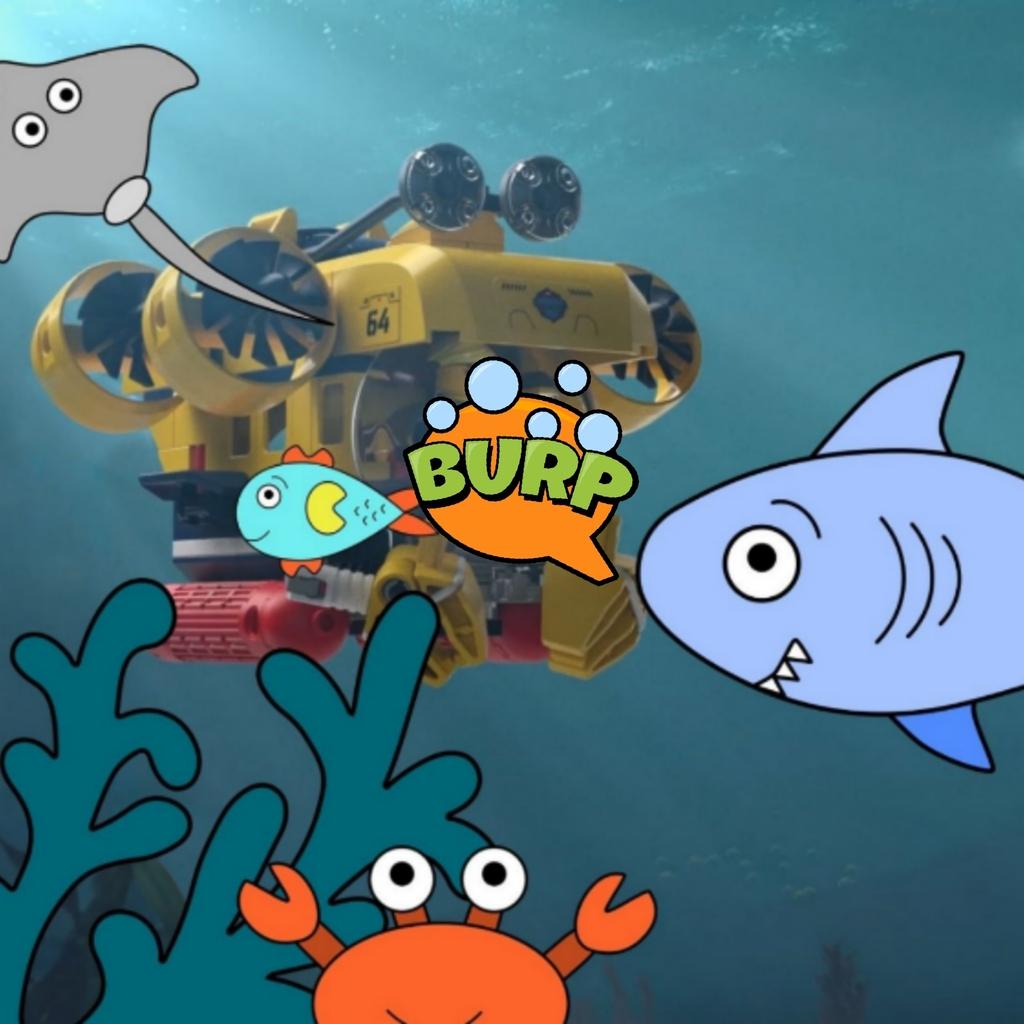 een onderwater avontuur 🐠🐡🌊🏝!