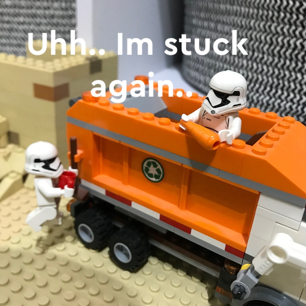 Storm Trooper Series - Finding Carrot
