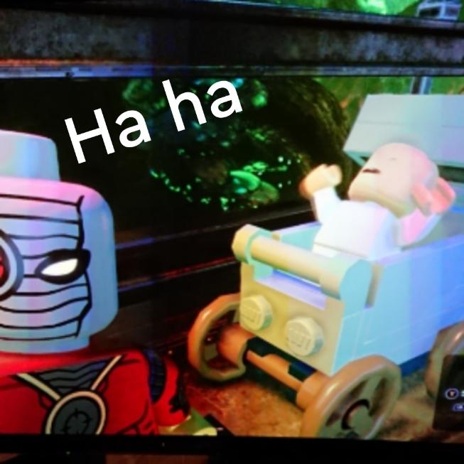 Funny lego dc super villains part 4
