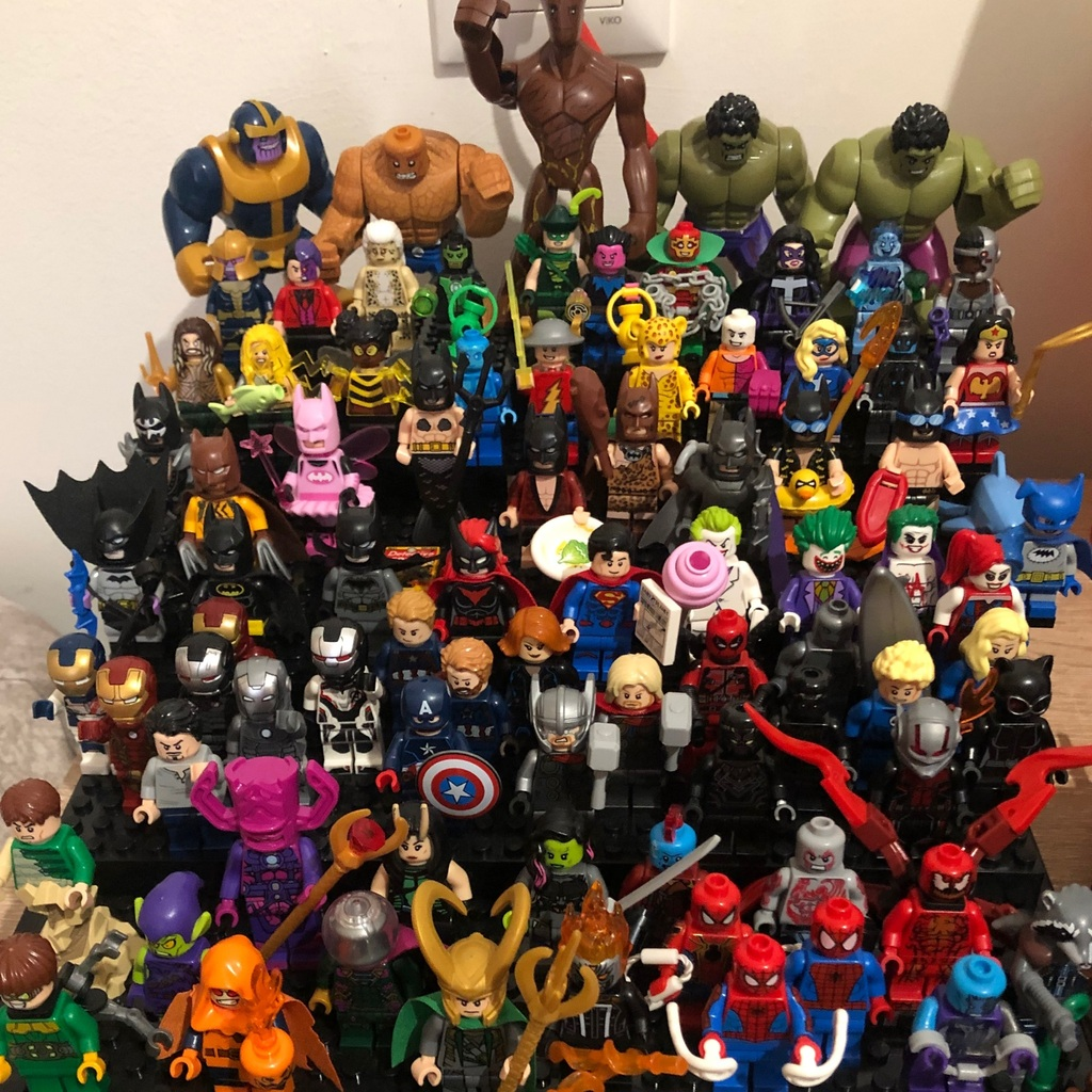 Minifig collection