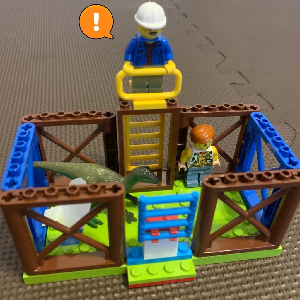 LEGOジュラシックワールドの世界