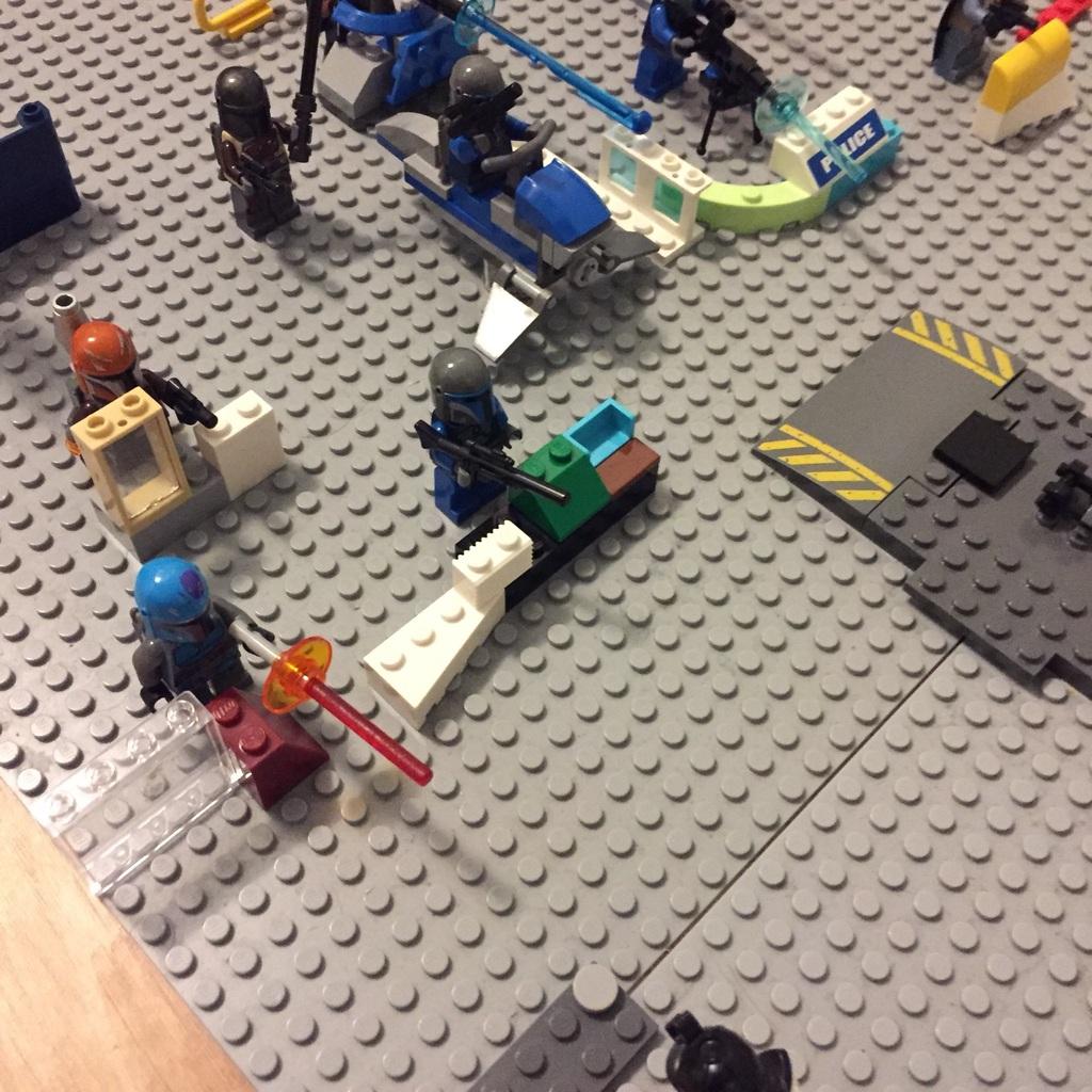 Csata jelenet