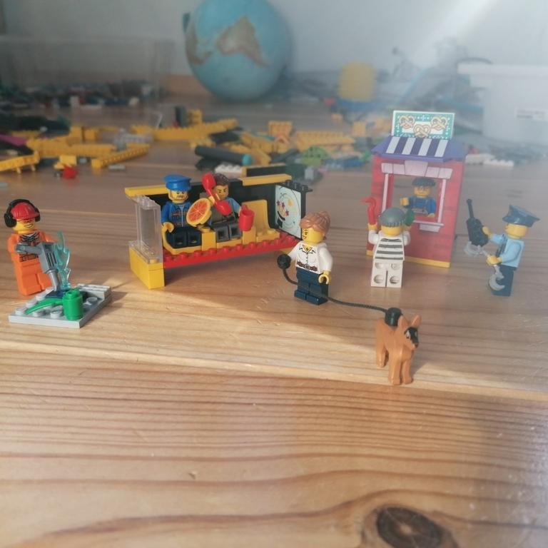 lego#legocity#busstation#overval#!👍🏻🙂