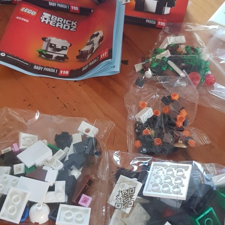 "LEGO ""PANDA"""