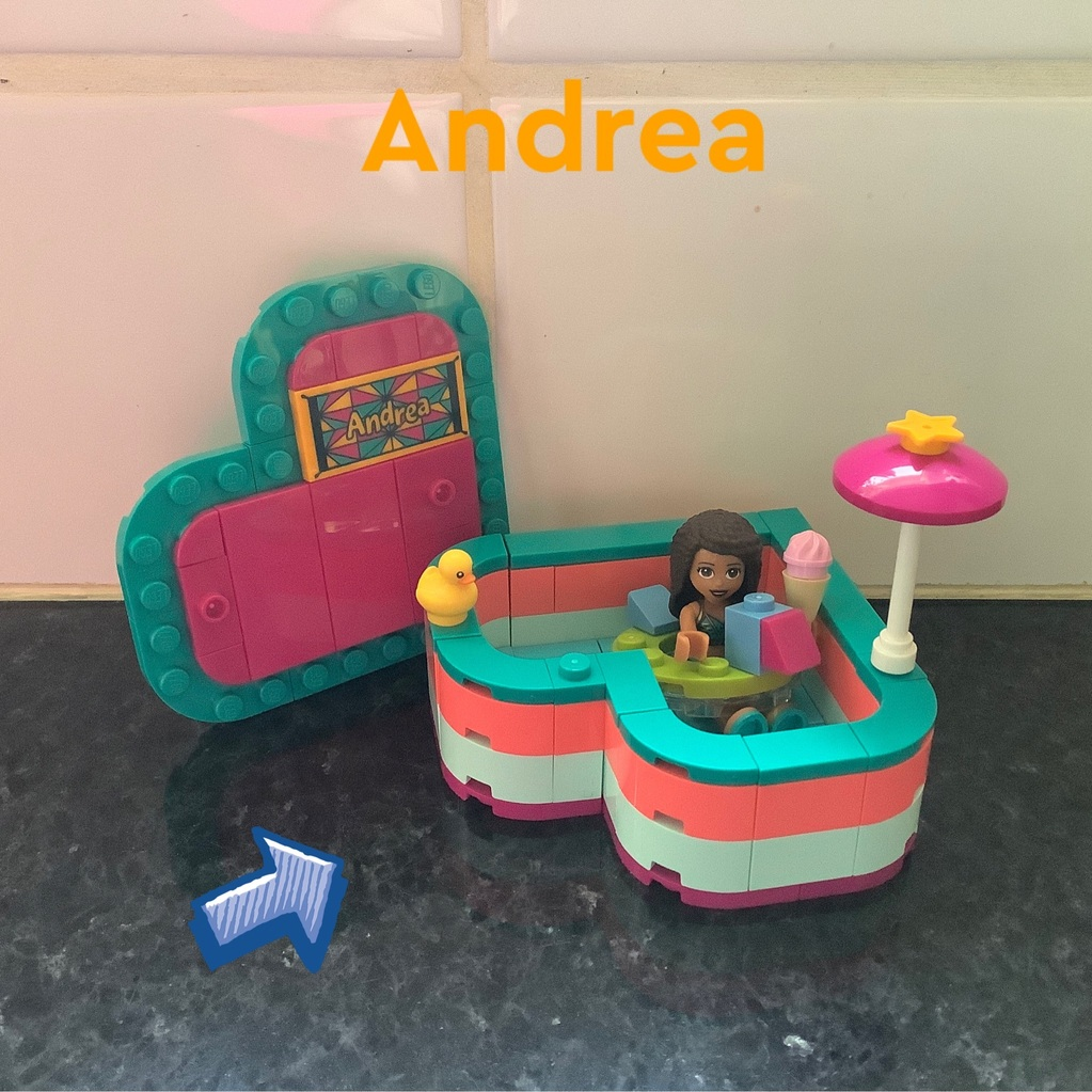 Andrea's hartvormige doos