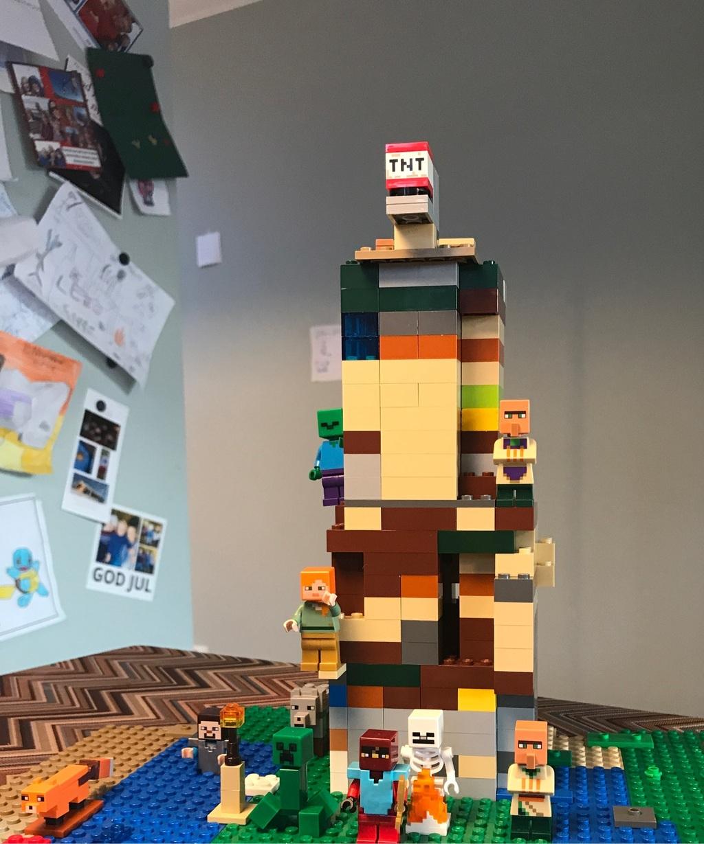 Det fantastiske Minecraft-tårnet