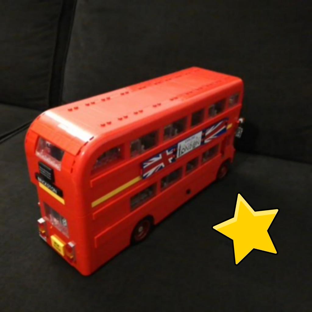 Lego autóbusz