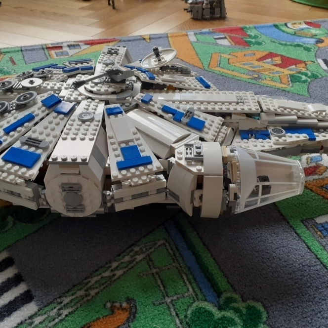 Sokół milenium z filmu Han Solo