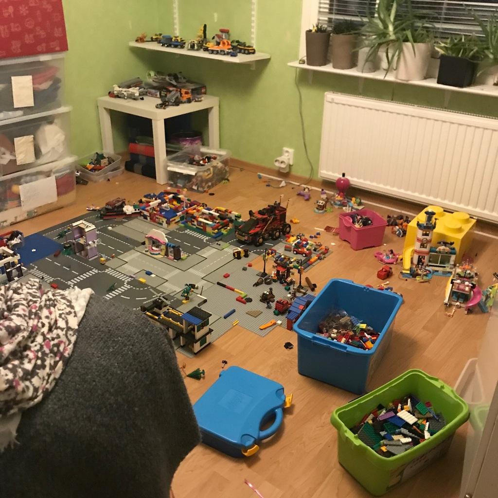 Jag flyttar legot