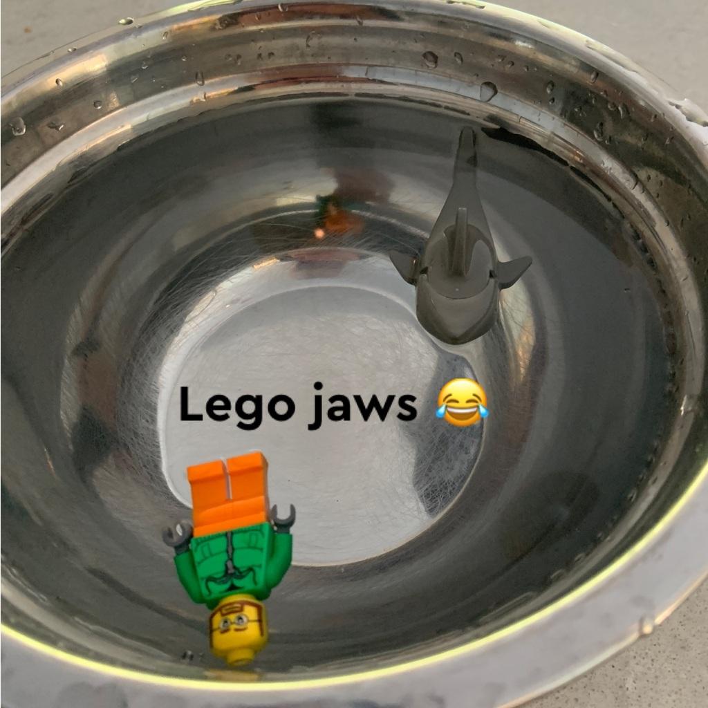 LEGO jaws be like 😂😂😂😂🤣🤣