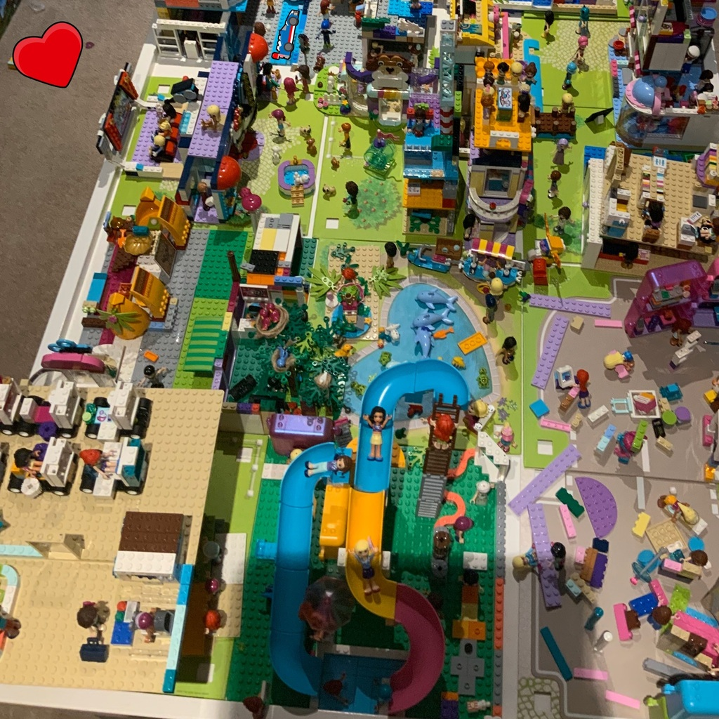 My updated LEGO city
