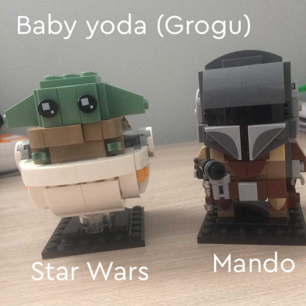 Baby Yoda (Grogu) y Mando