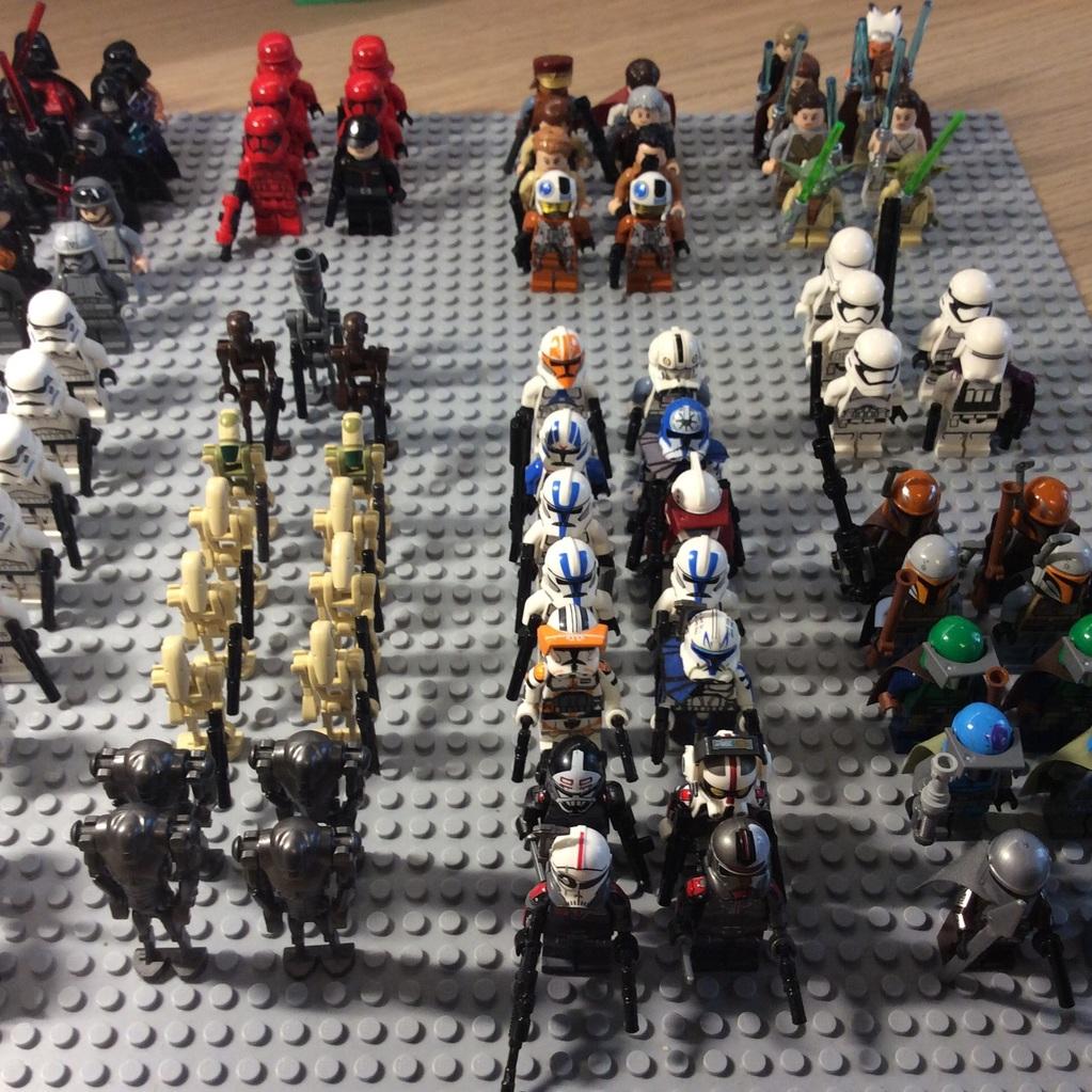 Minifiguren Armee