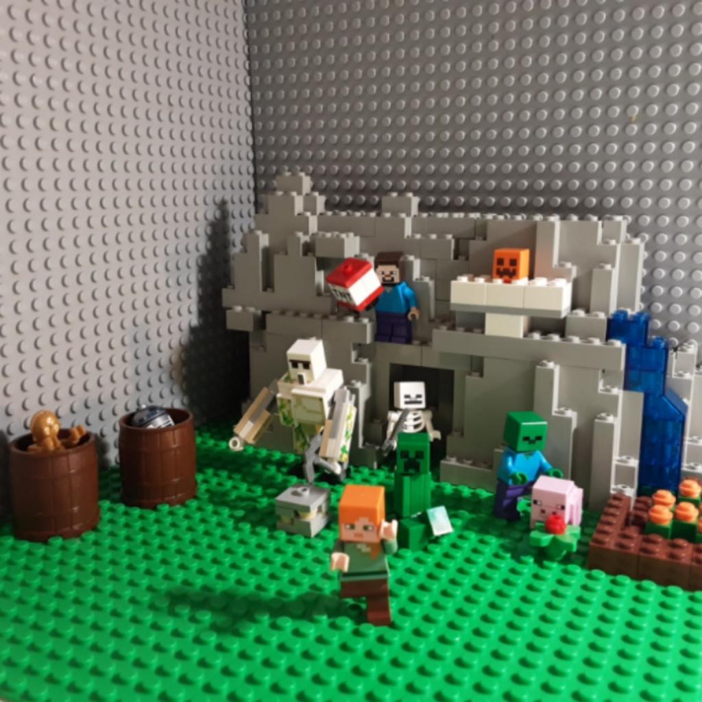 Minecraft jeskyně