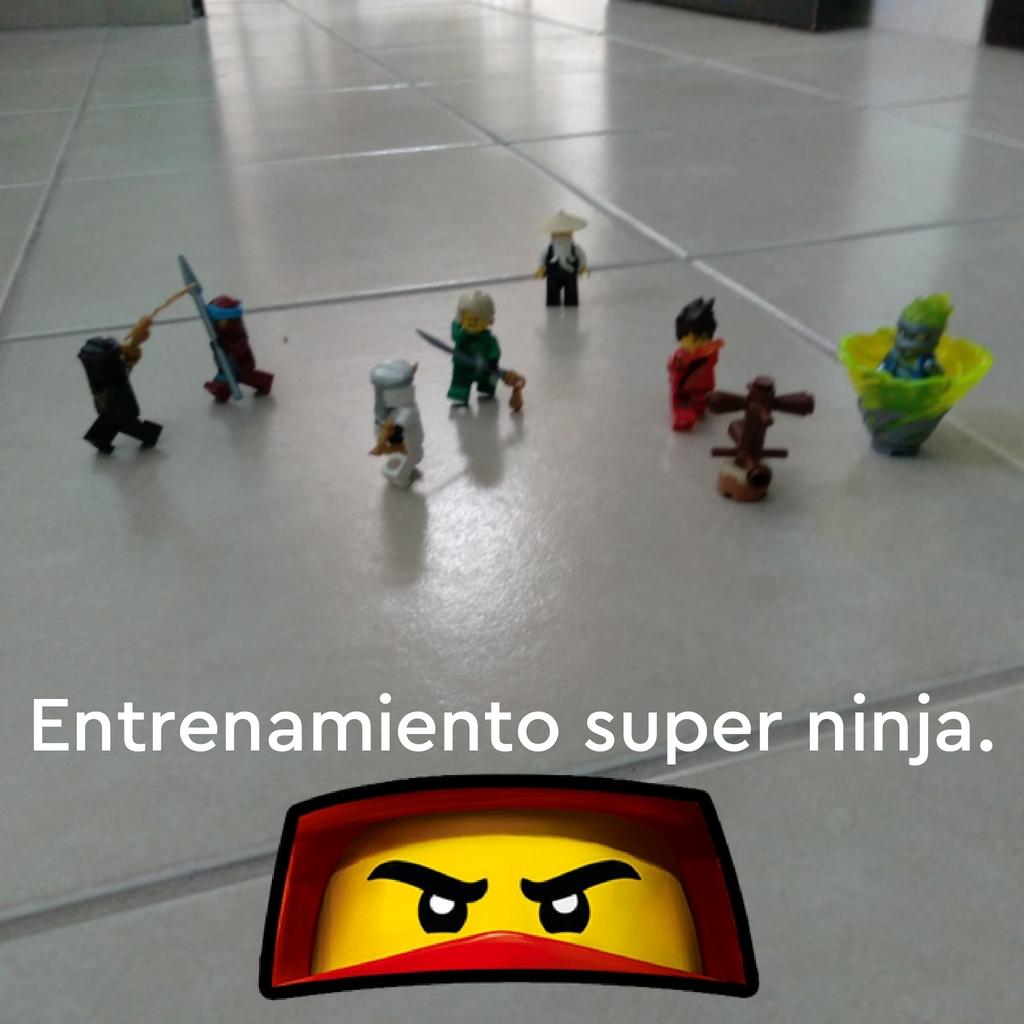 Entrenamiento super ninja