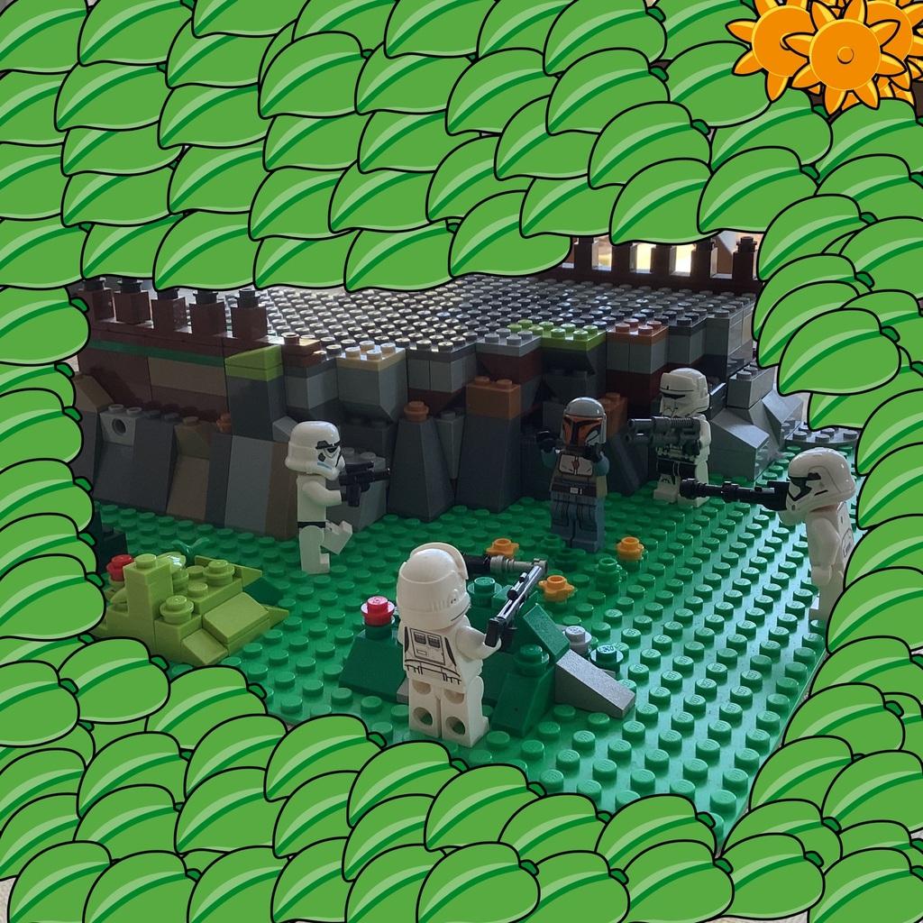 lles stormtroopers arrète le mandalorian