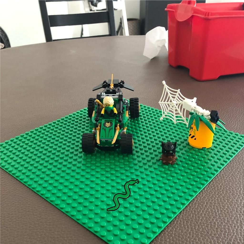 Ninja auto gebouwd