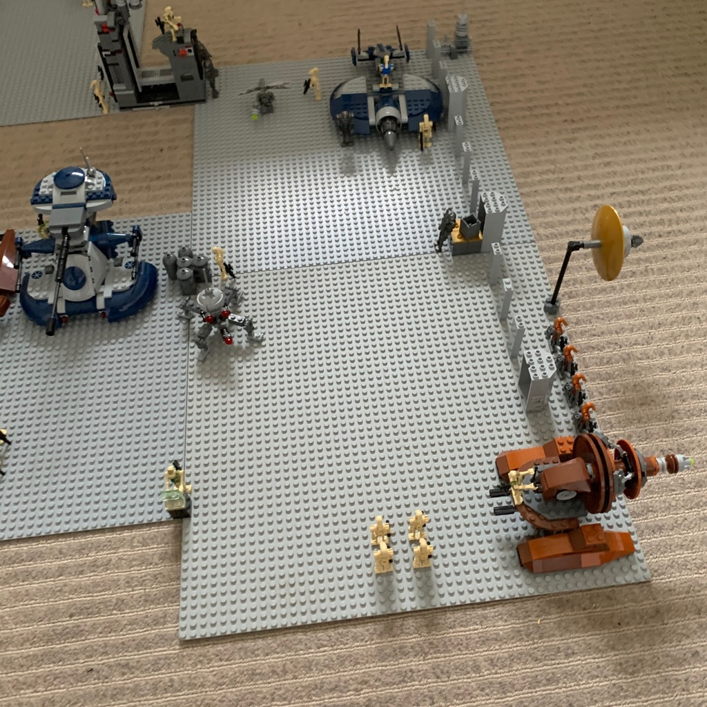 Inside a droid factory in Geonosis