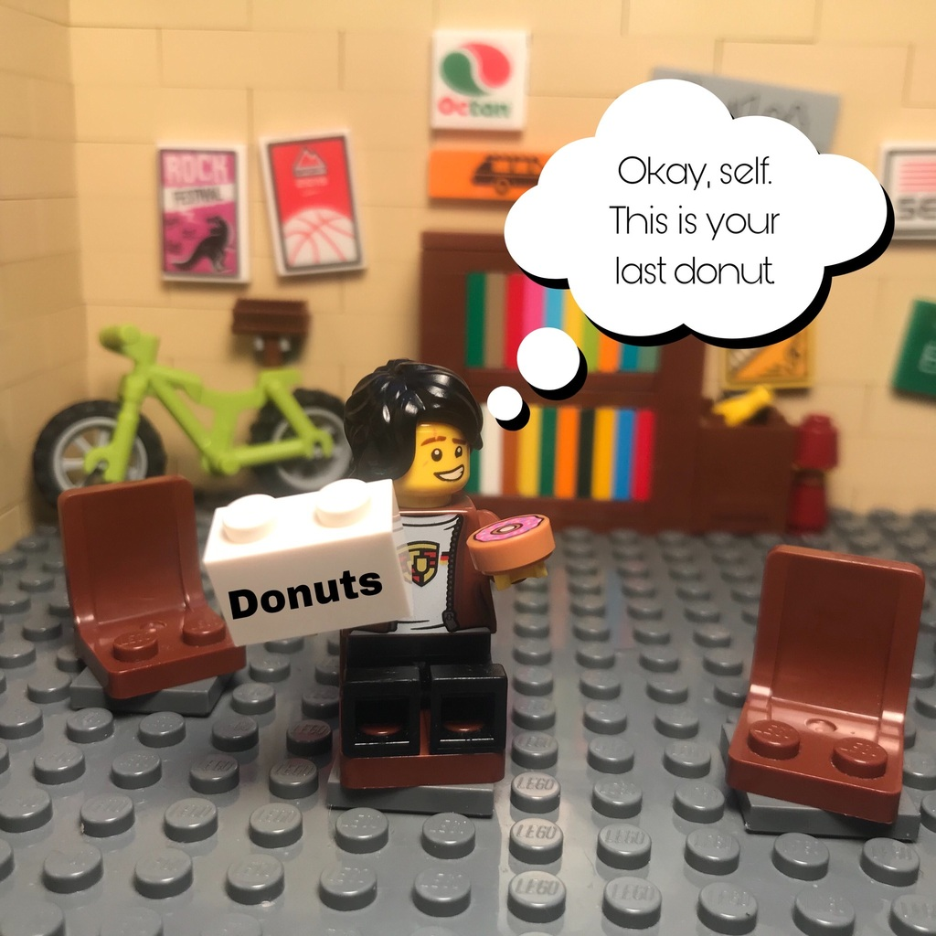 UEM Comic: Mini Dounts