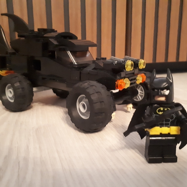 La Batmobile 🦇