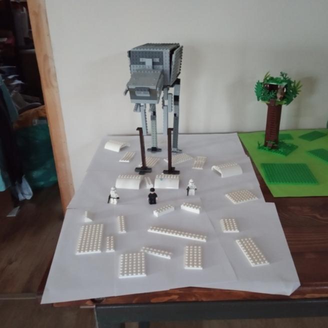 A nagy LEGO AT-AT-ÉM