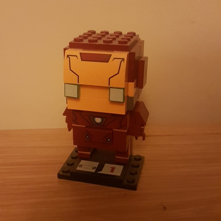 Iron Man brick head
