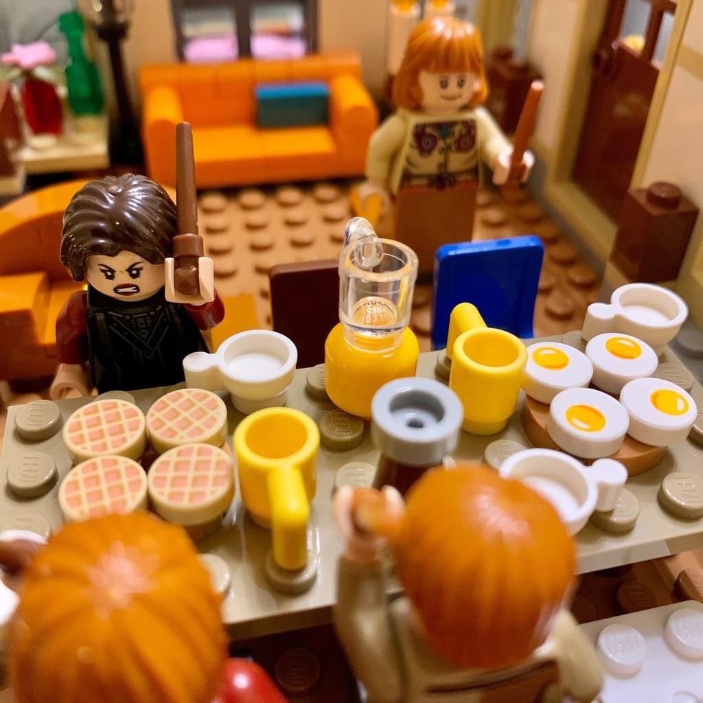 Repas chez les Weasley