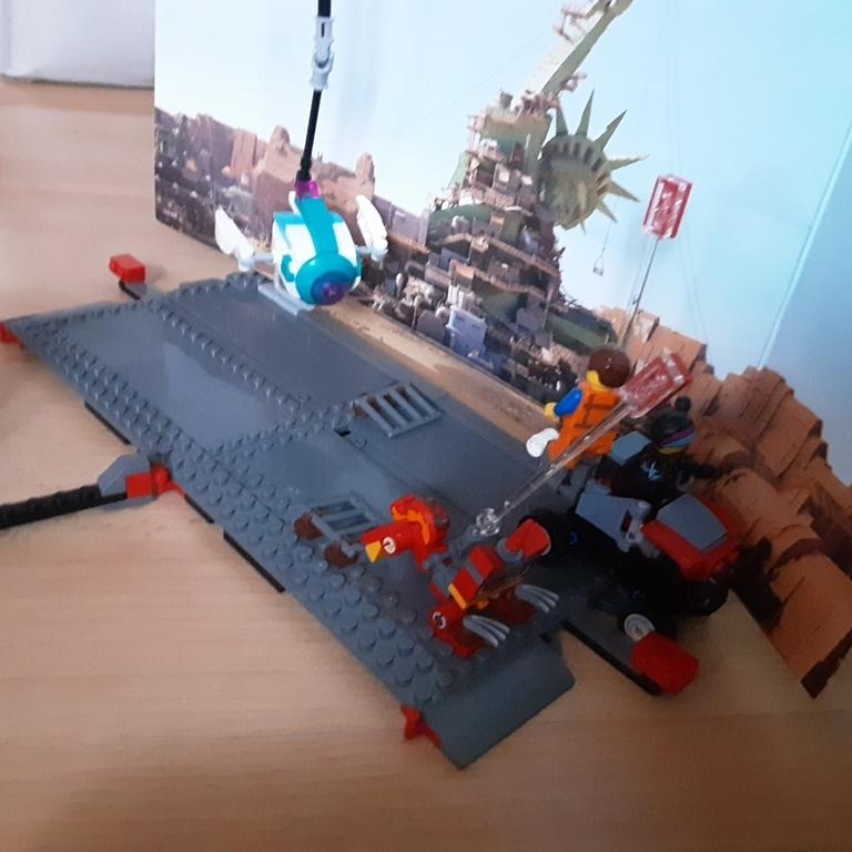Moja ulubiona scena z filmu lego movie 2