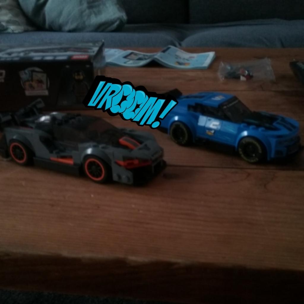 Senna and camaro