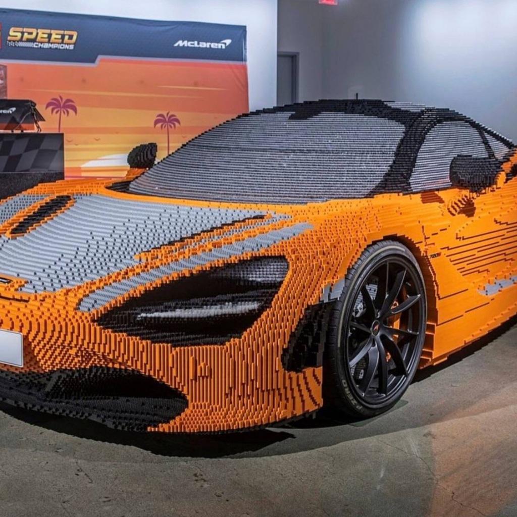 McLaren 7205 LE grandezza naturale