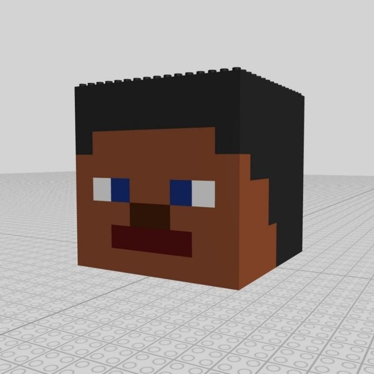 Lego ® Online Moc Steve Kopf