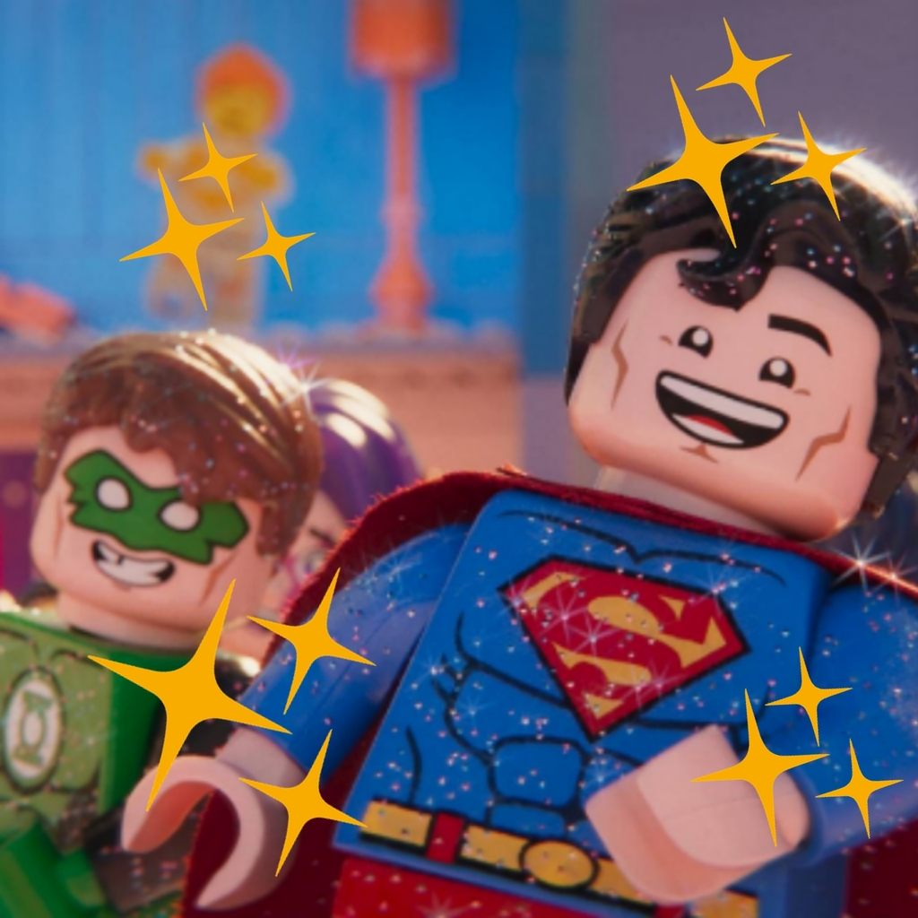 Supermans Glitzerparty