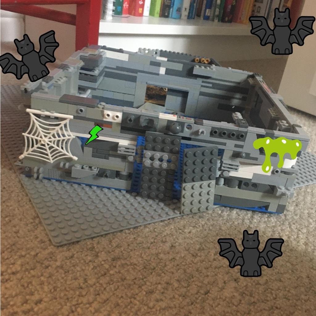 My creepy house