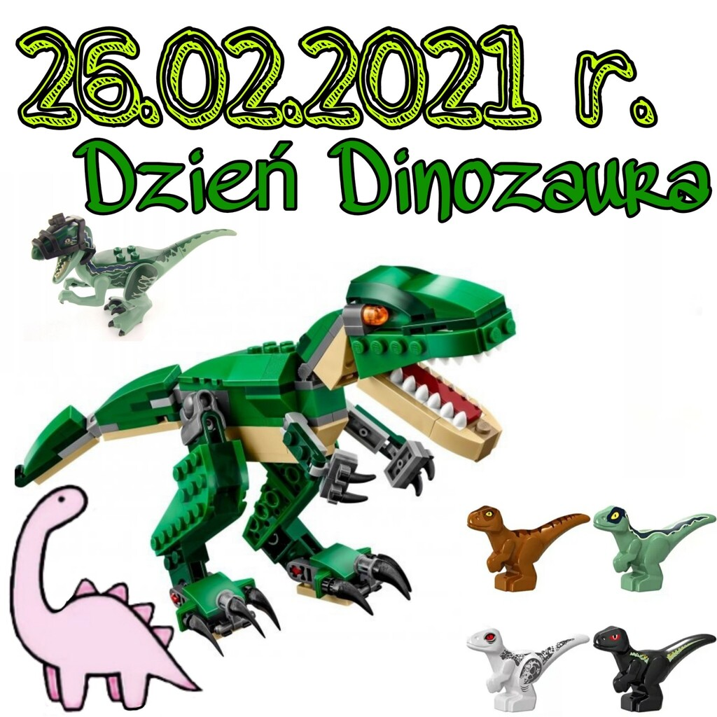 𝟚𝟞.𝟘𝟚.𝟚𝟘𝟚𝟙 𝕣. - Dzień Dinozaura