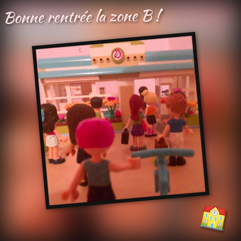 Bonne rentrée la zone B 🏫 !