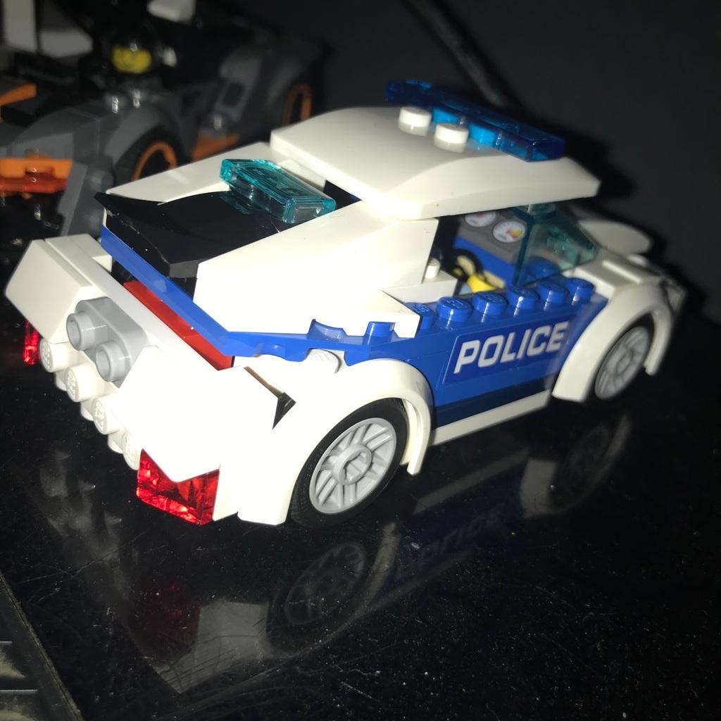 Voiture de police !