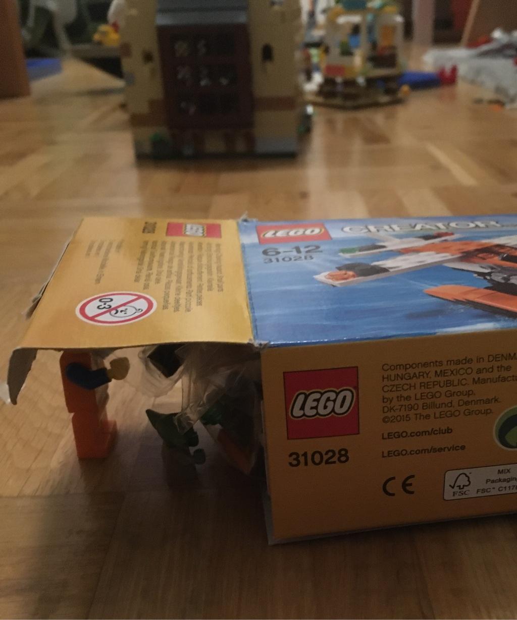 Mein neues Legoset