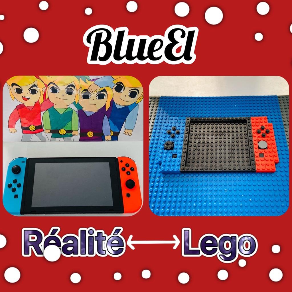 Nintendo Switch : Réalité 🆚 Lego