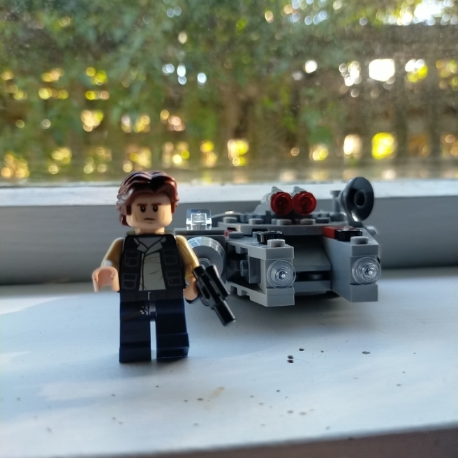 Han flying solo
