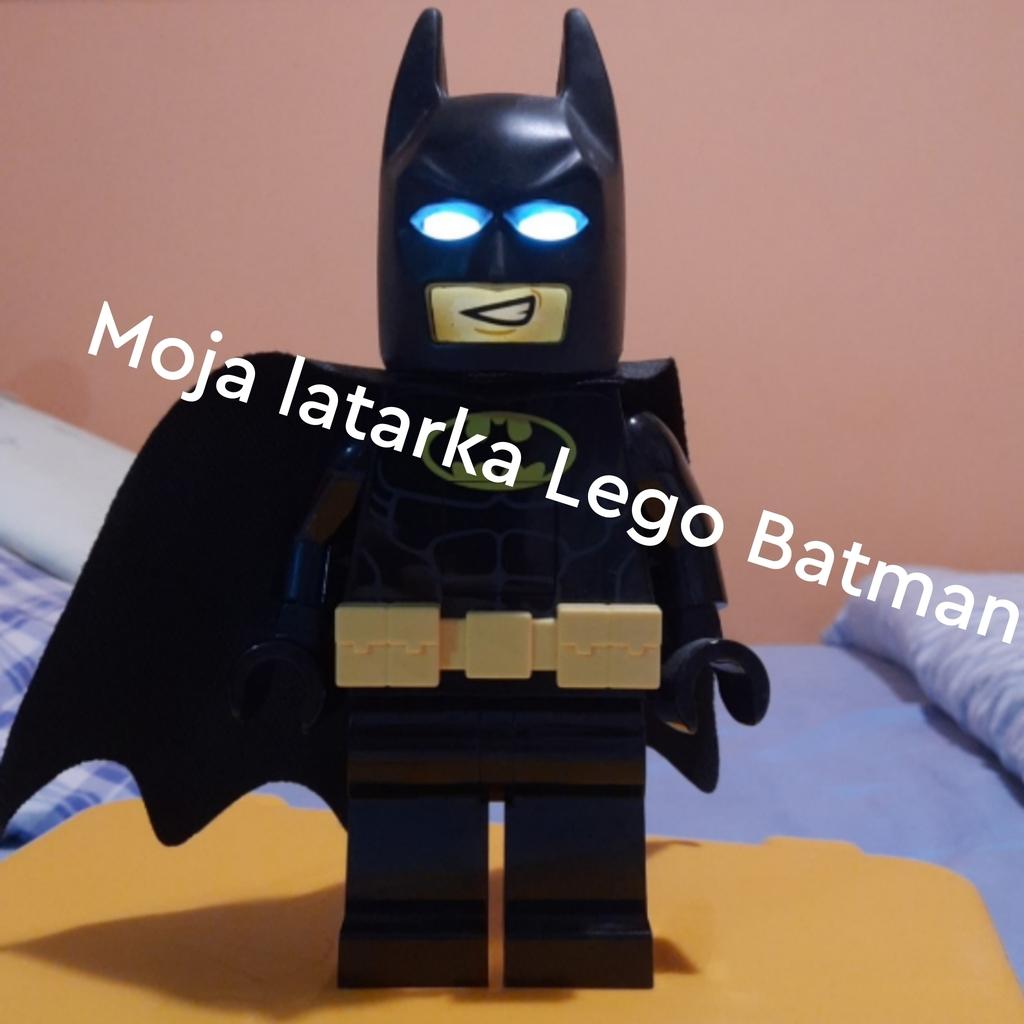 Moja latarka lego batman