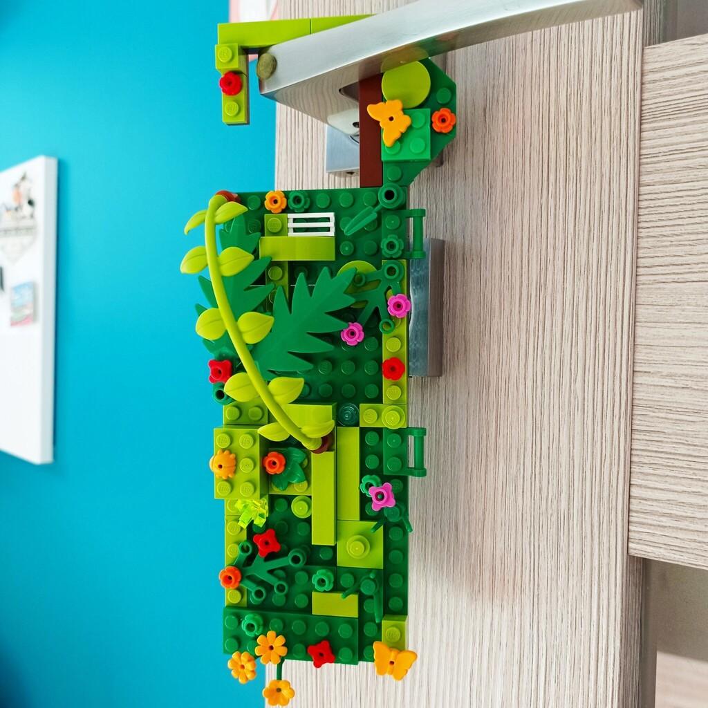 Moja zawieszka na drzwi z Lego