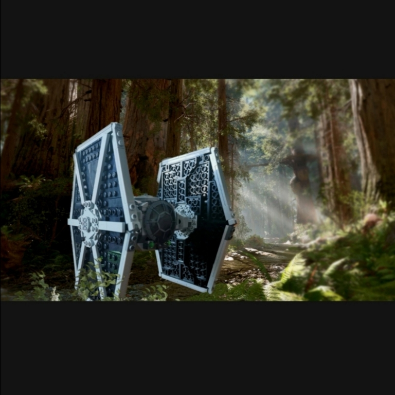TIE Fighter on Endor