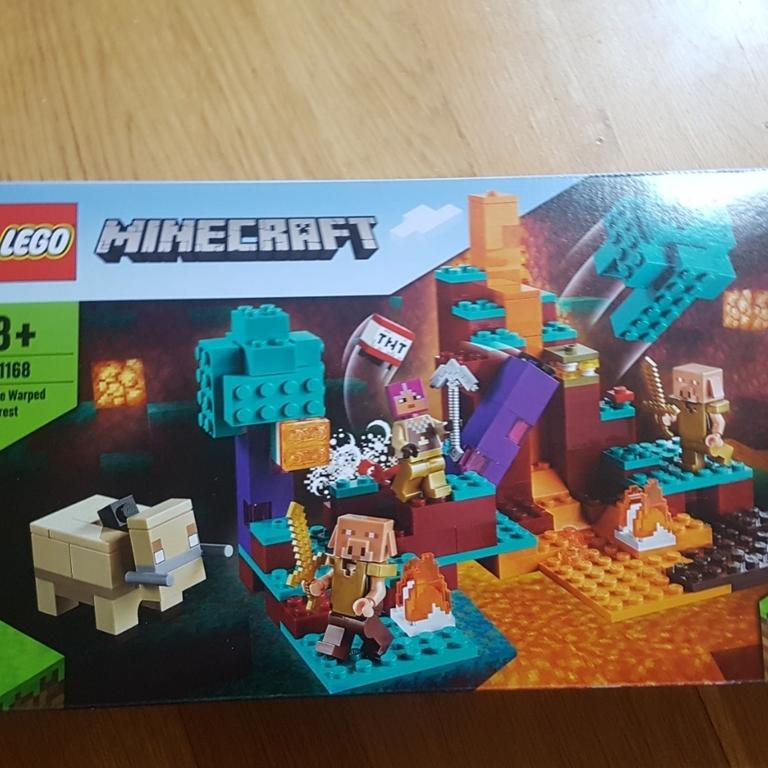 Lego minecraft the warped forest (igen)