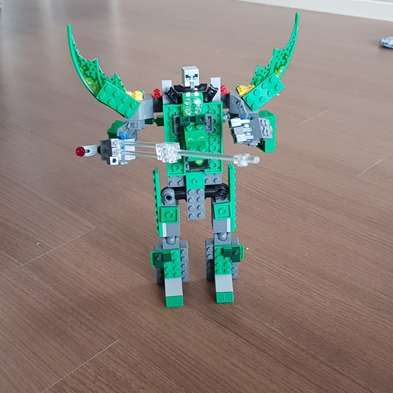 업그래이드 된로봇