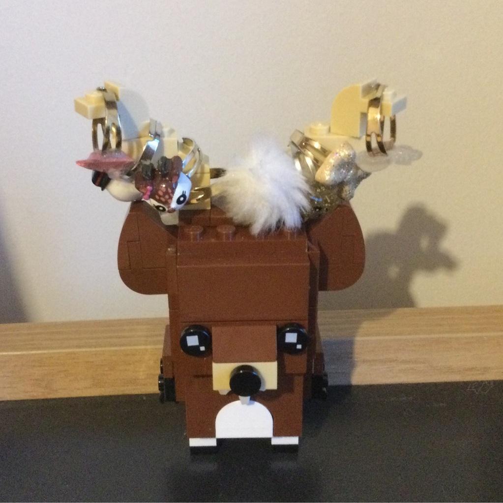 Lego Yüzük Tutucu